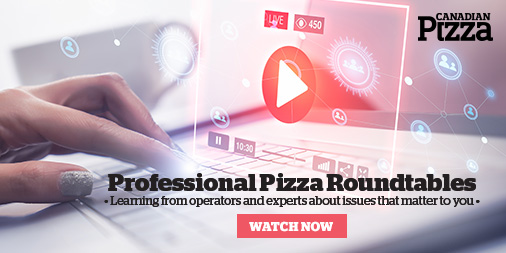 Professional Pizza Roundtable: Pizza Trends