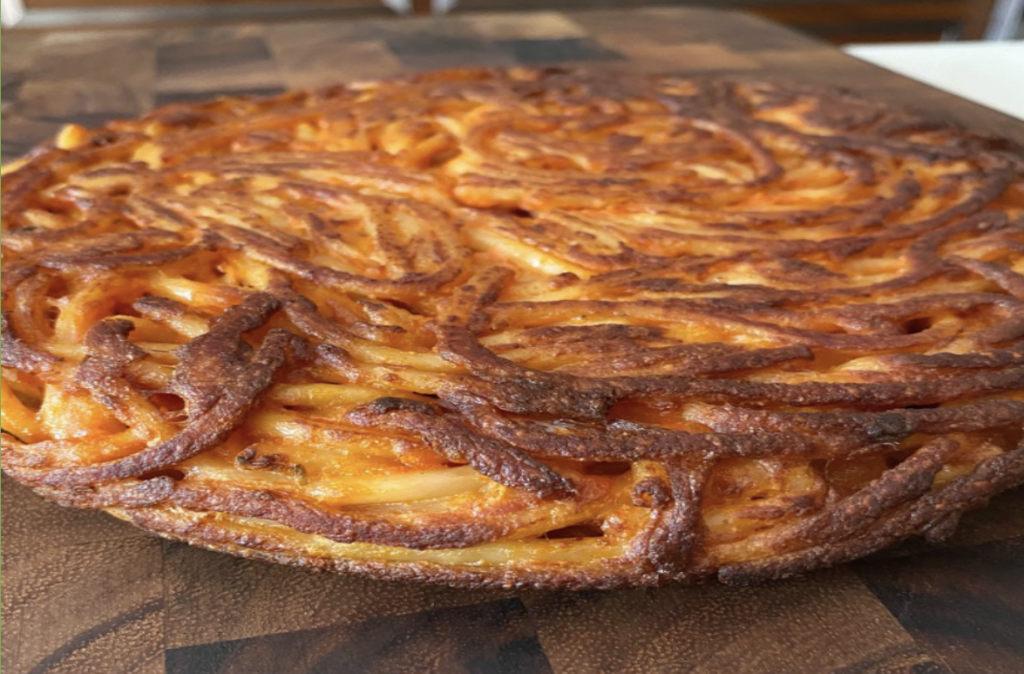 Recipe: Frittata de Pasta